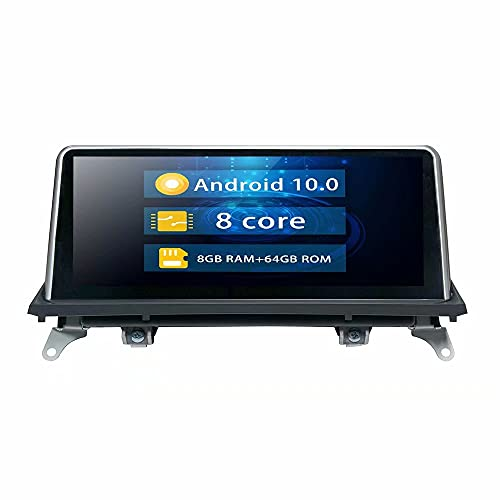 ROADYAKO 10.25Inch Android 10.0 Indash Car GPS Navigaton Radio Stereo para BMW F85 X5 M Sports F86 X6 F16 X6 Coche Original con AUX LVDS 6PIN 6.5 o 8.8Inch con Sistema NBT Auto Media 4G WiFi