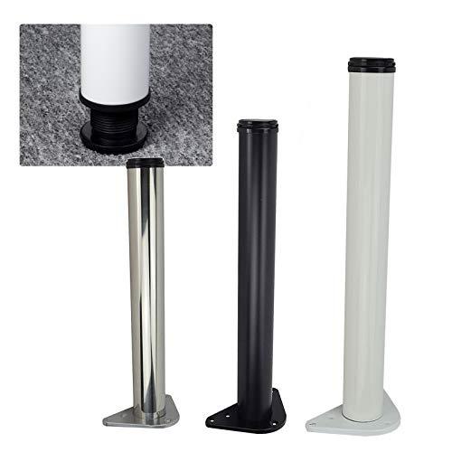DIYH Patas para Muebles De Altura Ajustable 120cm - 1 Pack Piernas...