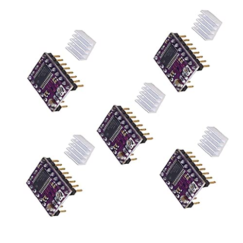 Stepper Motor Driver Module with Heatsink Compatible with 3D Printer Reprap Ramps DRV8825