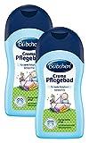 Bübchen Creme Pflegebad, sensitiver Baby Badezusatz für zarte Babyhaut, mit Rosmarin und Weizenprotein, Menge: 2 x 400 ml