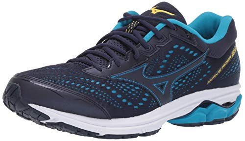 Mizuno Men's Wave Rider 22 Running Shoe, Peacoat, 10.5 UK