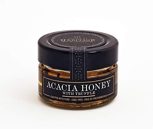 Miel de Acacia con Trufa Negra 60g – Ganador del Great Taste - Calidad Premium – Delicadeza Gourmet
