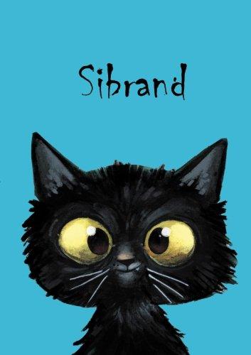 Sibrand: Sibrand - Katzen - Malbuch / Notizbuch / Tagebuch: A5 - blanko