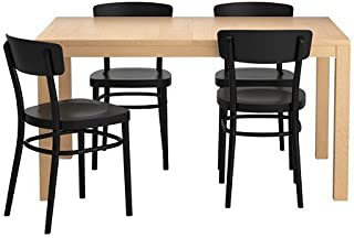IKEA Extendable Dining Table with 4 Chairs 162020.1182.3438