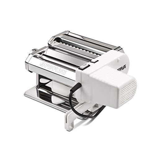 G3Ferrari G20121-Sfoglia Mia Macchina per la Pasta elettrica, 90 W, Acciao Inox, 2 velocità