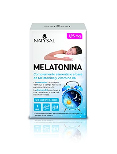 Natysal Melatonina 1.95Mg 120 Comprimidos Masticables 130 g