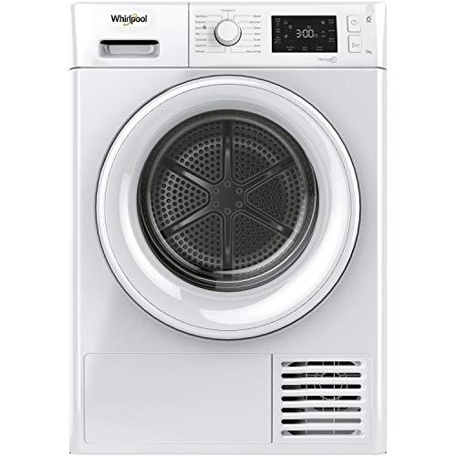 Whirlpool FTM229X2UK Freestanding Heat Pump Tumble Dryer, 9 kg, 1400rpm, White
