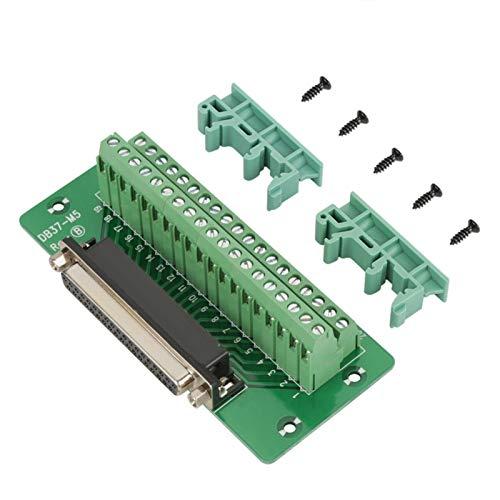 Tablero de conexiones DB37, Módulo de riel DIN DB37, Módulo de interfaz de montaje en riel DIN DB37 Tablero de conexiones de conector hembra(Mujer)