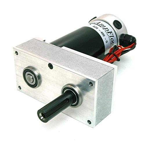 AmpFlow A28-400-G Electric Gearmotor, 12V, 24V or 36 VDC, 580 RPM