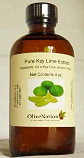 OliveNation Pure Key Lime Extract - 4 oz - Perfect for candies, key lime pie, cookies, salad dressings and marinades - baking-extracts-and-flavorings