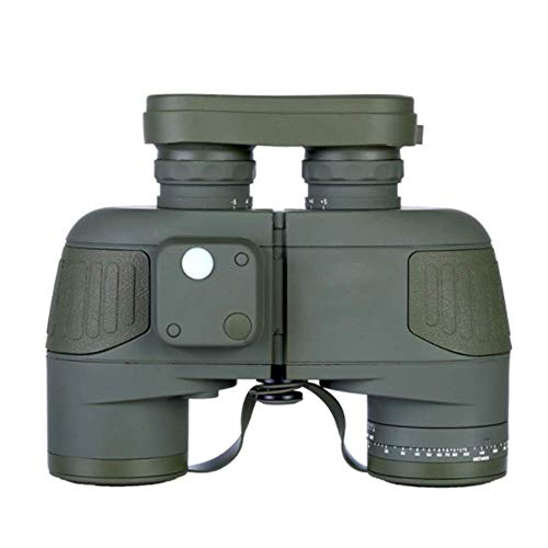 YO-TOKU Verrekijkers, 10X50 BaK4 Telescope, Waterdicht Kompas Variërend Compact for Volwassenenonderwijs Children's vogels kijken en Hunting Concert Verrekijkers Clear