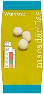Waitrose Geroosterde gezouten Macadamia Noten 100g
