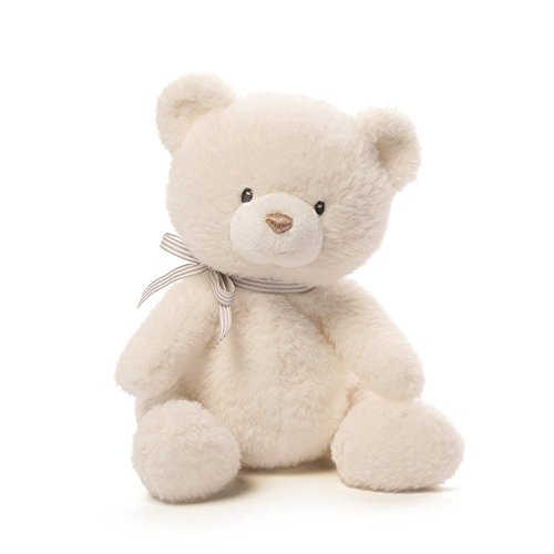 Baby GUND Oh So Soft Teddy Bear Stuffed Animal Plush, Cream, 12 inch