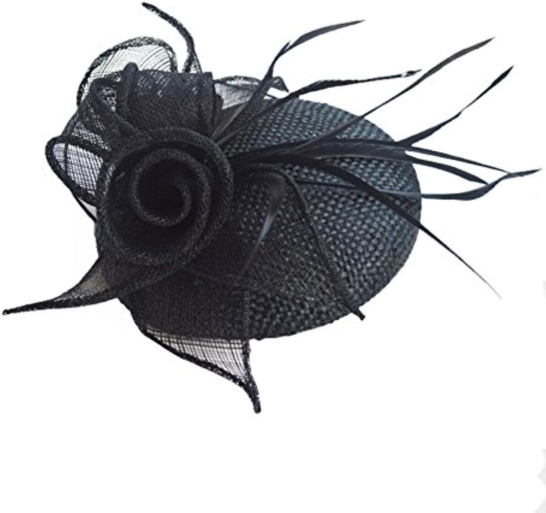 KHSKXHand Set Ceremony Hat Elegant and Fresh Trend Lady Spring Hat Headdress