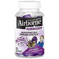 60-Count Airborne ElderberryVitamins & Zinc Crafted Blend Gummies
