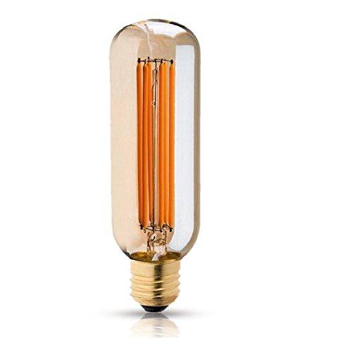Filamento Led T9 2200K E27, Ol Iluminação, T904A2, 4 W, Amarelo