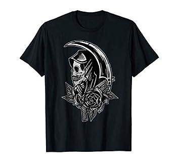 Vintage Grim Reaper Scythe Tattoo Flash American Traditional