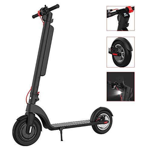 JLWDD Elektrische scooter, 25 km/u en 45 km bereik, opvouwbaar, 36 V/10 Ah