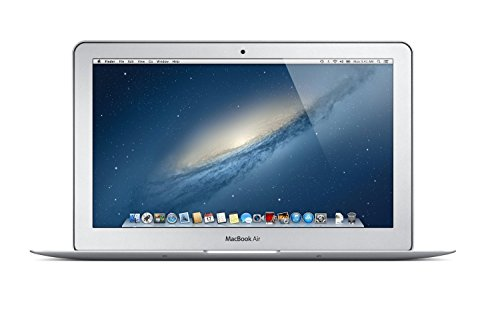 Apple MacBook Air MD711LL/B 11.6in Widescreen LED Backlit HD Laptop, Intel Dual-Core i5 up to 2.7GHz, 4GB RAM, 128GB SSD, HD Camera, USB 3.0, 802.11ac, Bluetooth, Mac OS X (Renewed)