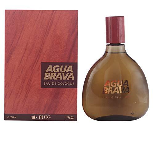 Puig Agua Brava Edc Flacon, 500 ml, Pack de 1