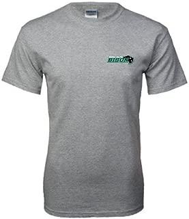 Nichols College Grey T Shirt 'Nichols College Bison w/Bison' - Small