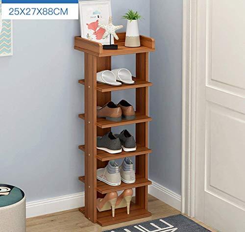 YLCJ schoenenrek, 5/6/7 niveaus, moderne schoenenkast, eenvoudig, schoenenrek, stofdicht, voor vakken (maat: 88 cm)