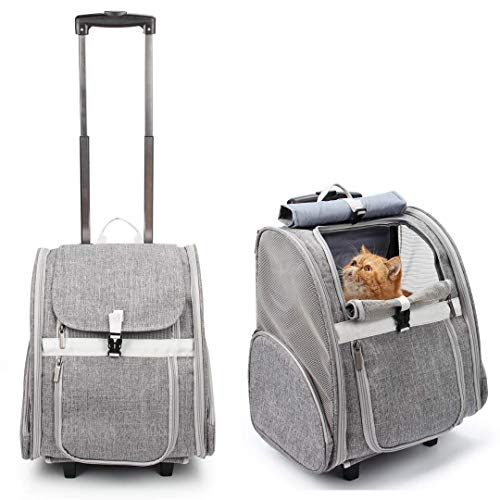 Lollimeow Pet Rolling Carrier