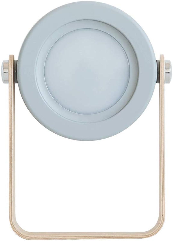 THOR-BEI Schlafzimmer führte Spiegel Scheinwerfer einfache kreative tragbare Nachtlicht Desktop Wand hngen Persnlichkeit Lampen -744Spiegellampen (Farbe   Wei)