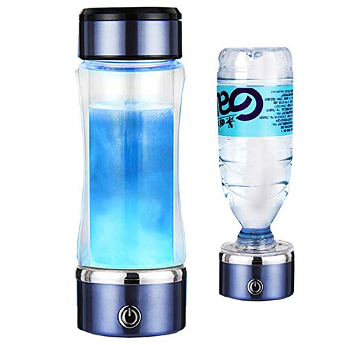 Hidrogenador De Agua Modo 3 Minutos Descarga De Alta Concentración Ionizador De Ozono Y Cloro Generador De Hidrógeno Alcalino Cuprich Recargable Portátil 420 Ml