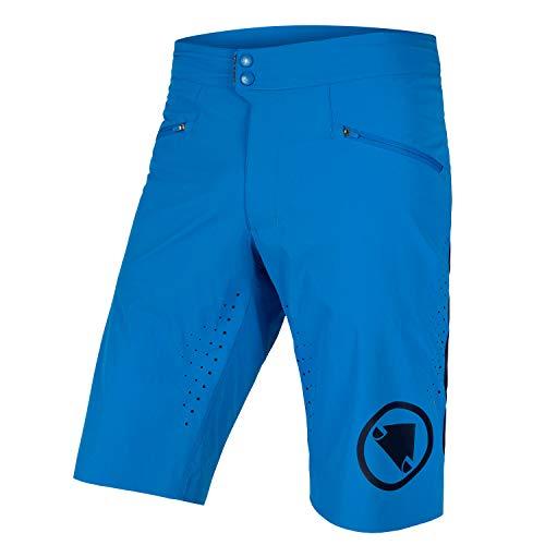 Endura Men's SingleTrack Lite Mountain Bike Baggy Cycling Short Azure Blue, X-Large