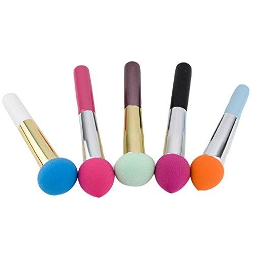 1x Cosmetic Makeup Brushes Liquid Cream Foundation Sponge Brush (Random Color) by Broadfashion