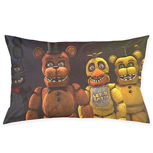FN-AF Five Nights at Freddy's - Funda de almohada para sofá, elegante y respetuosa con el medio ambiente, para amantes del otoño, para el hogar, dormitorio, sala de estar, coche, 50,8 x 76,2 cm