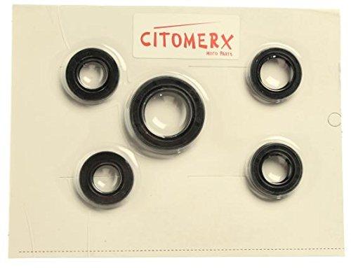 Wellendichtring Satz 4 Takt China Roller,50 CCM GY6 / 139QMB Motoren,ATU Baotian,Benzhou UVM