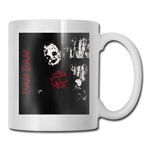 Ram-ms-tein Band bis Radio Tee Keramik Teetasse Kaffeetasse Tasse personalisierte benutzerdefinierte Geschenk Büro Becher - lustige Kaffeetasse personalisierte Kaffeetasse Geschenk weiß