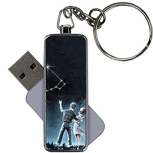 Diseño Big Dipper para Los Hombres Metallica Compatible para USB Disk Capacity 8Gb