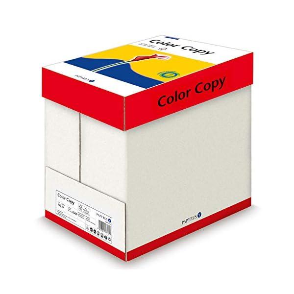 Papyrus 88007859de impresoras/Papel de Papel para impresora láser color Copy 100g/m², A4, 2500hojas satinado blanco, hochglatt
