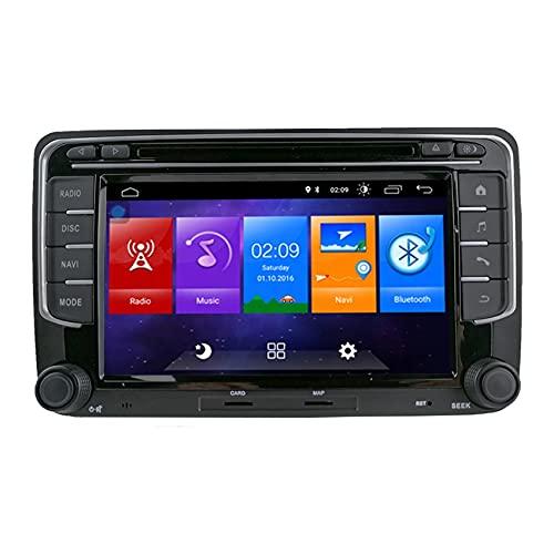 Unidad de cabezal Android RCD330 de 7 pulgadas, 2 + 16 GB para Volkswagen, Skoda, Seat