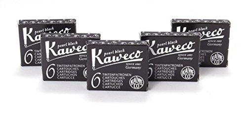 Kaweco Fountain Pen 30 ink cartridges short black by Kaweco Pens
