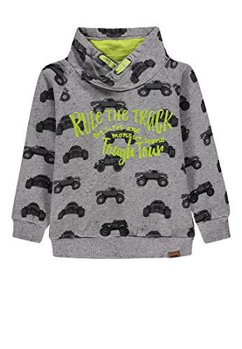 Kanz Jungen 1/1 Arm Sweatshirt, Mehrfarbig (Allover|Multicolored 0003), (Herstellergröße: 110)