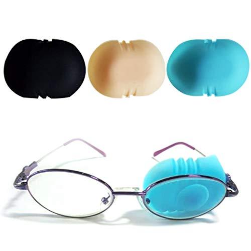 ZOYLINK 3PCS Kids Eye Patch Tragbare Silikon Augenklappe Amblyopia Eye Patch für Kinder