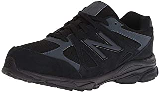 New Balance Boys' 888v1 Running Shoe Black/Thunder 9.5 XW US Toddler [並行輸入品]