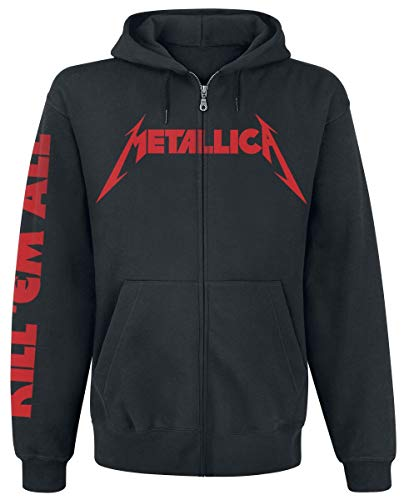 Metallica Kill Em All Kapuzenjacke schwarz L