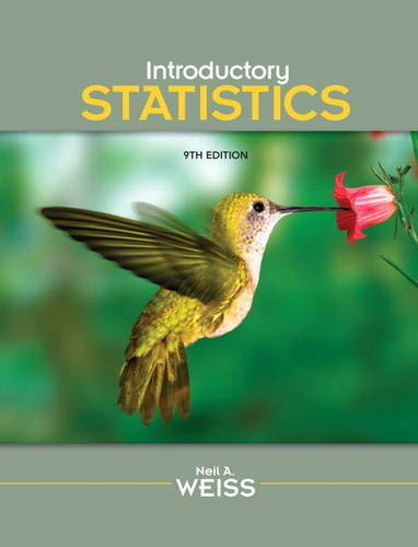 Introductory Statistics (9th Edition)
