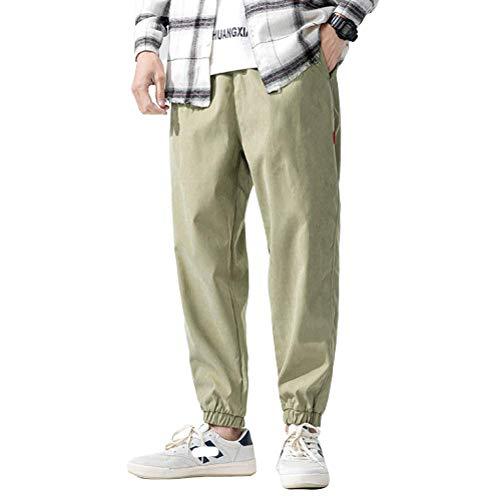 N/ A Pantalon de survêtement pour Homme Jogging Pantalon de survêtement Entièrement élastique Taille Casual Pantalon de Jogging Quotidien - Design Original