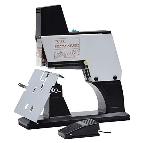 Hanchen Grapadora Eléctrica 40 hojas Grapadora Automática Fuerza y Profundidad Ajustable para Oficinas Papelerías