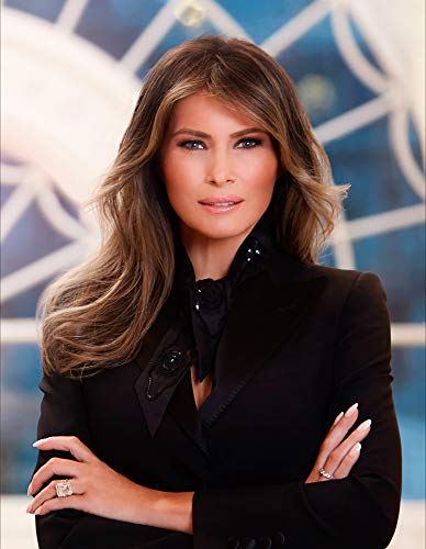 Melania Trump Photograph – Historical Artwork From 2017 – (5″ X 7″) – Semi-Gloss