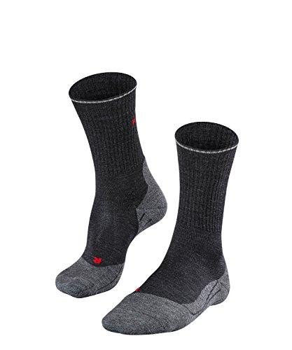 FALKE Herren Wandersocken TK2 Wool Silk - Wadenlange Wandersocke mit Merinowolle und Seide für den leichten Wanderschuh (Kategorie A und A/B), 1 Paar, versch. Farben, Größe 39-42, 43-46