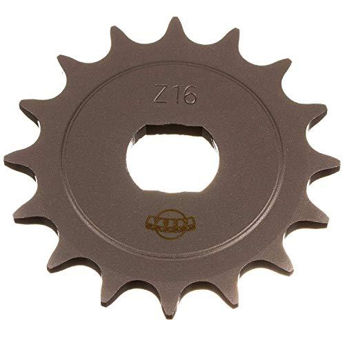 Antriebskettenrad, Ritzel - KR51/2, S51, S70, SR50, SR80 - 16Z - 16 Zähne (1.Qualität)