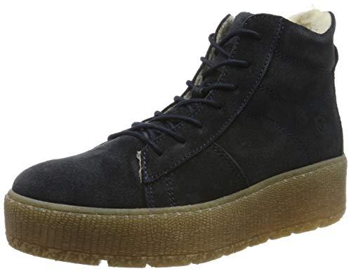 Tamaris Damen 1-1-26096-23 Hohe Stiefel, Blau (Navy 805), 42 EU