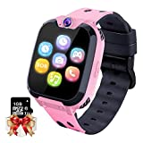 Smartwatch per Bambini Orologio da Gioco - Game Music Smart Watch (Include 1GB Micro SD Card) con Lettore Musicale MP3 Call Games Camera Recorder Sveglia per Ragazzi Ragazze (Rosa